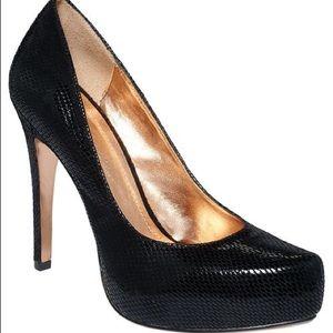 BCBG black Heels. Size 7.5 Worn Once